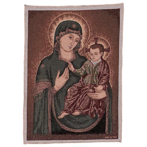 Arazzo Madonna della Consolata 55x40 cm 1