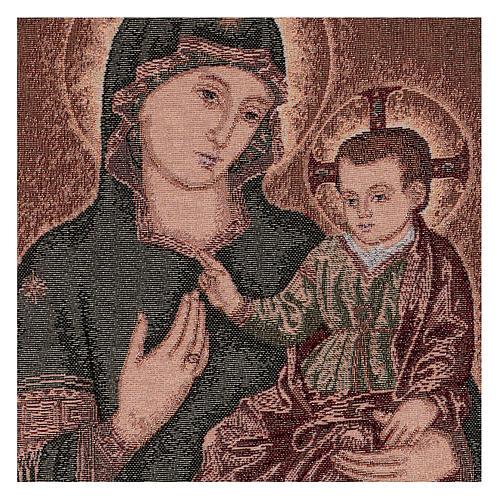 Arazzo Madonna della Consolata 55x40 cm 2