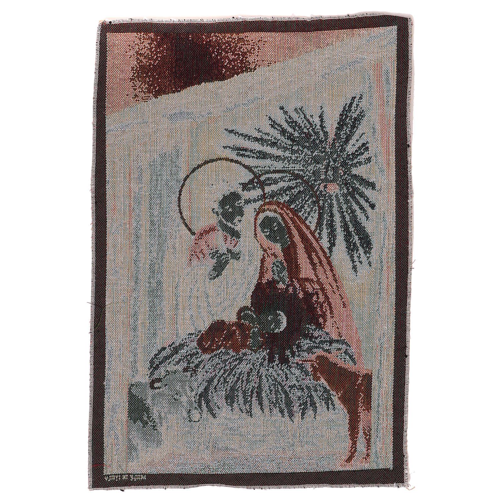 Arazzo Natività 45x30 cm 3