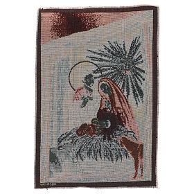 Arazzo Natività 45x30 cm s3