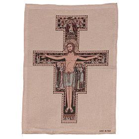 Arazzo Crocefisso di San Damiano 50x40 cm s1