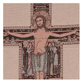 Arazzo Crocefisso di San Damiano 50x40 cm s2