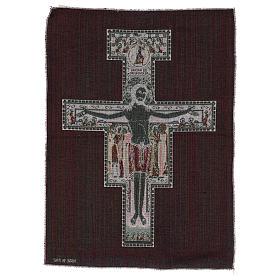 Arazzo Crocefisso di San Damiano 50x40 cm s3