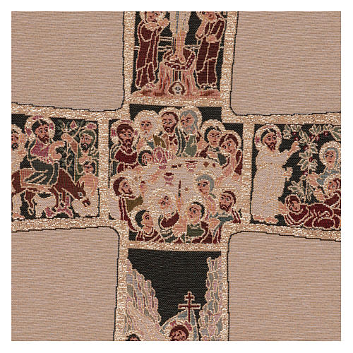 Russian cross tapestry 50x40 cm 2