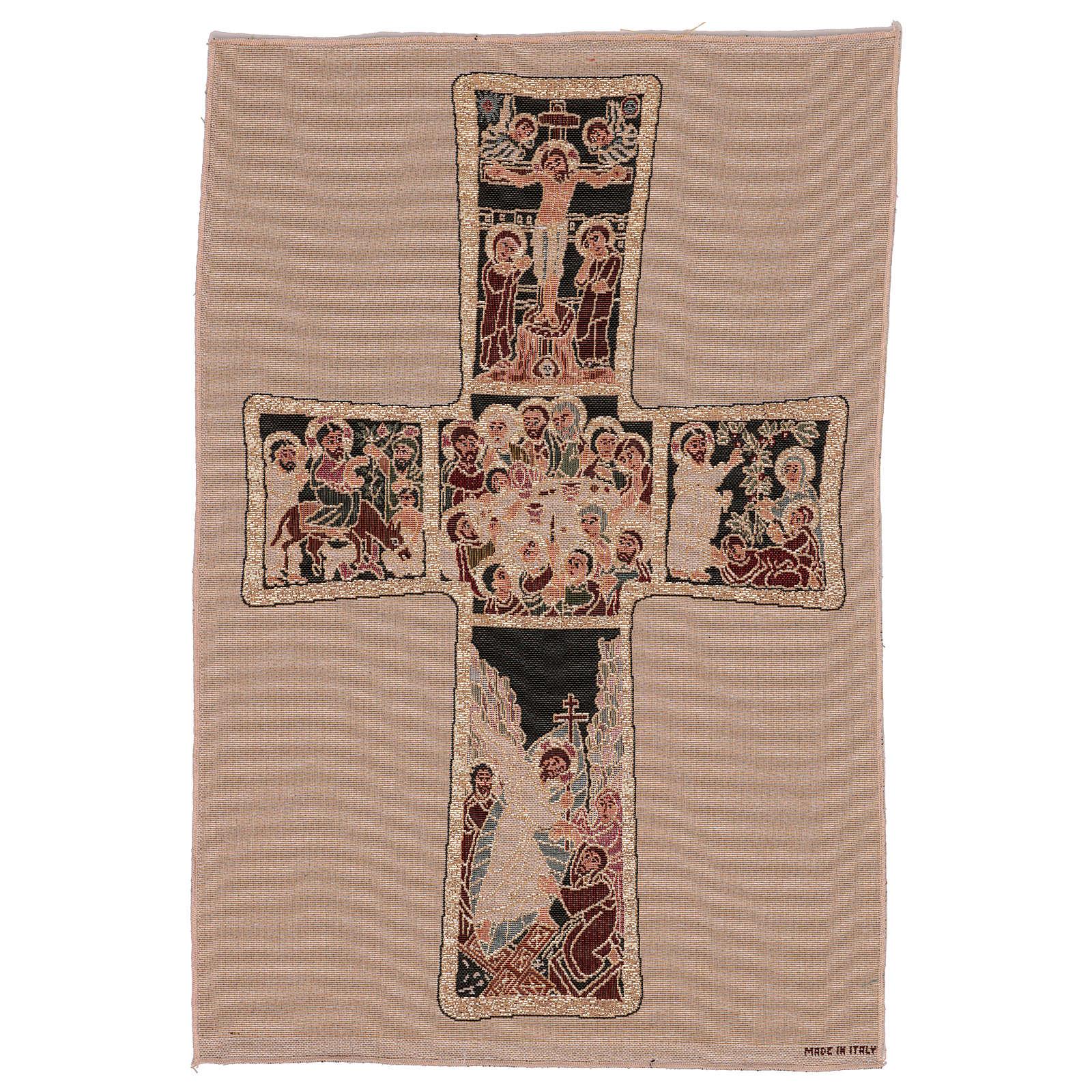 Arazzo Croce Russa 55x40 cm 3