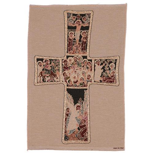 Arazzo Croce Russa 55x40 cm 1