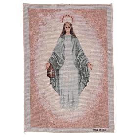Tapiz Inmaculada de Garabandal 40x30 cm s1