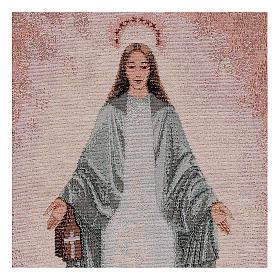 Tapiz Inmaculada de Garabandal 40x30 cm s2