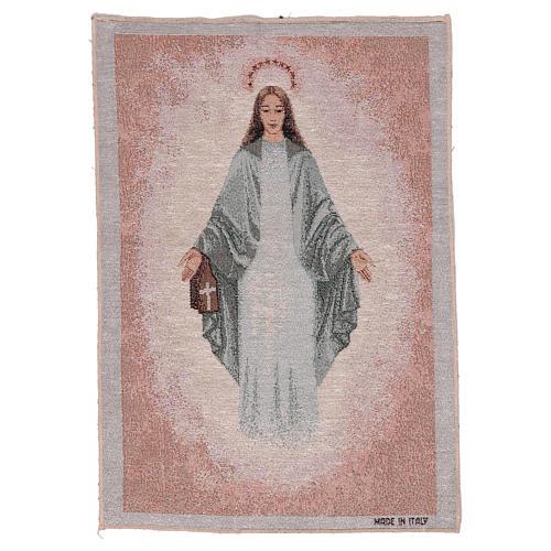 Tapiz Inmaculada de Garabandal 40x30 cm 1