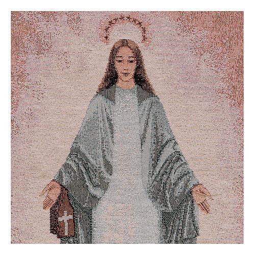 Tapiz Inmaculada de Garabandal 40x30 cm 2