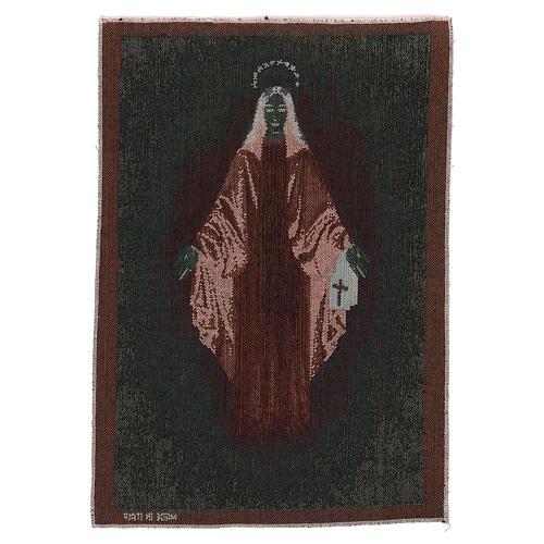 Tapiz Inmaculada de Garabandal 40x30 cm 3