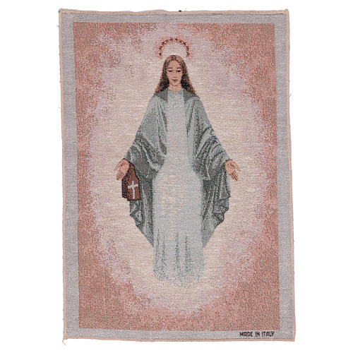 Our Lady of Garabandal tapestry 17x12