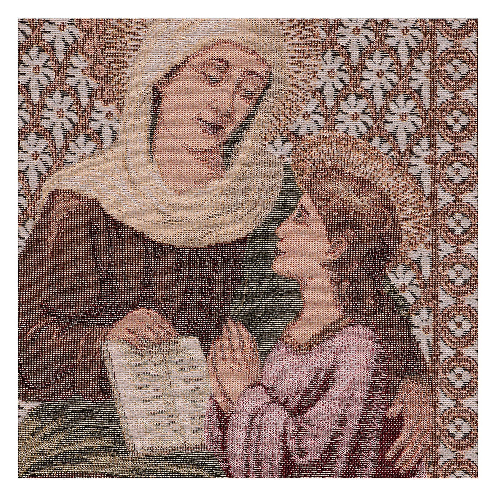 Tapiz Santa Ana y María 50x40 cm 3