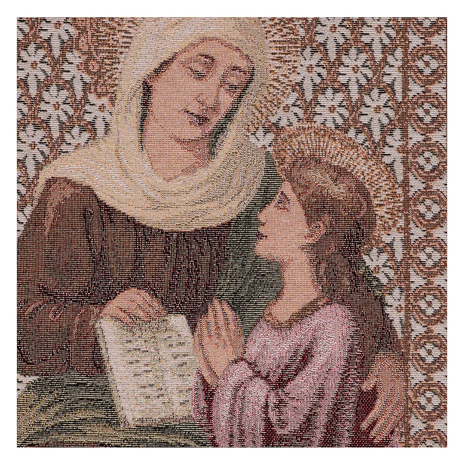 Tapisserie Ste Anne et Marie 50x40 cm 3