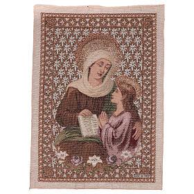Tapisserie Ste Anne et Marie 50x40 cm s1
