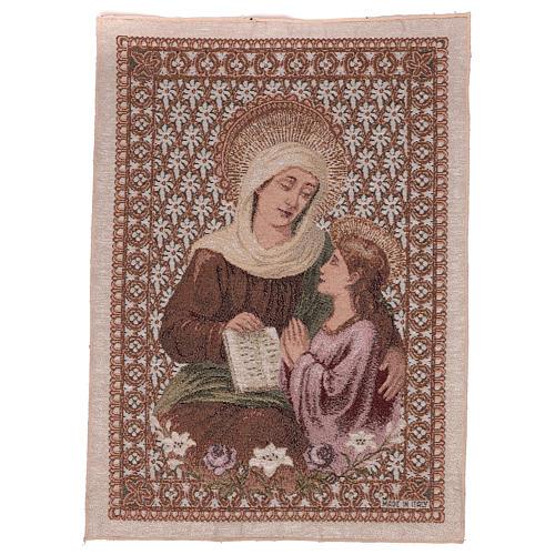 Tapisserie Ste Anne et Marie 50x40 cm 1