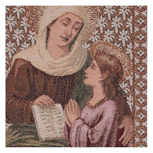 Tapisserie Ste Anne et Marie 50x40 cm 2
