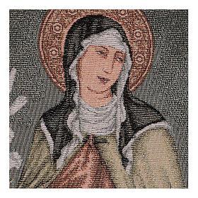 Arazzo Santa Chiara 40x30 cm s2