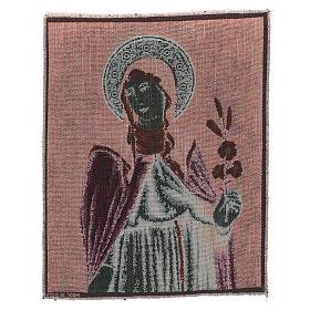 Arazzo Santa Chiara 40x30 cm s3
