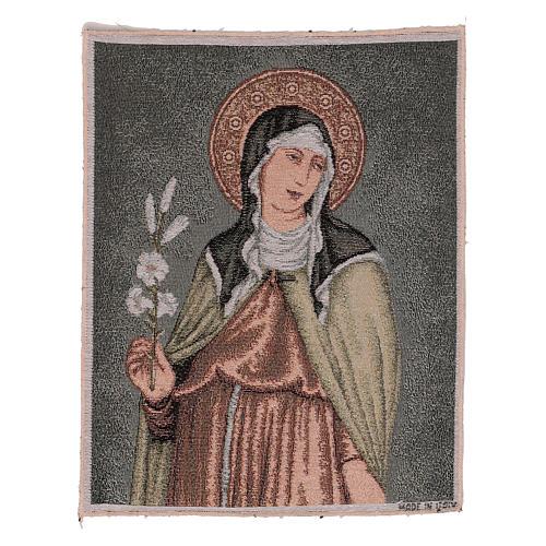 Arazzo Santa Chiara 40x30 cm 1