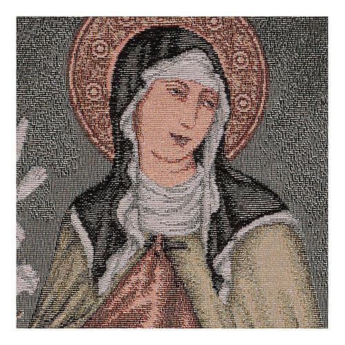 Arazzo Santa Chiara 40x30 cm 2