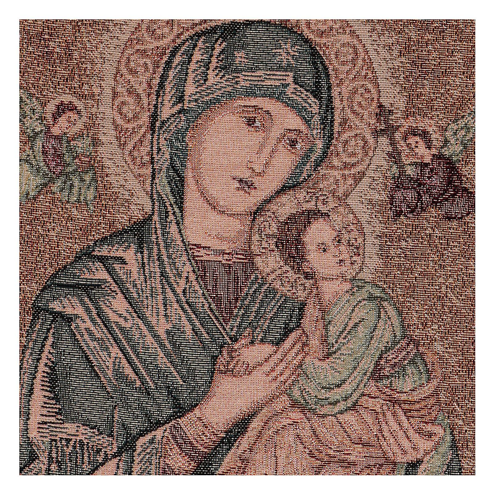 Arazzo Madonna del Perpetuo Soccorso 45x30 cm 3