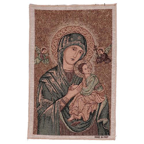 Arazzo Madonna del Perpetuo Soccorso 45x30 cm 1