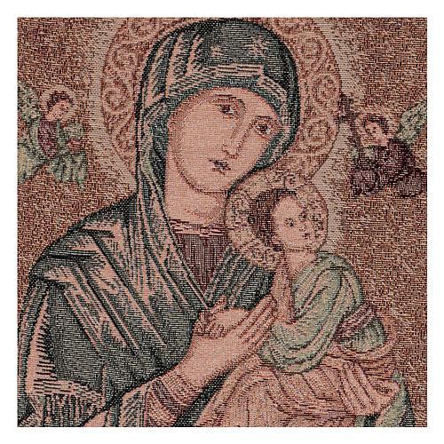 Arazzo Madonna del Perpetuo Soccorso 45x30 cm 2