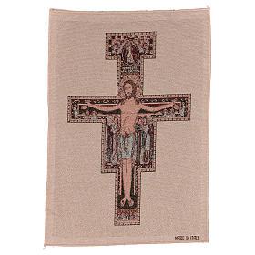 Arazzo Crocefisso di San Damiano 40x30 cm s1