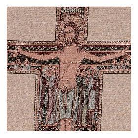 Arazzo Crocefisso di San Damiano 40x30 cm s2