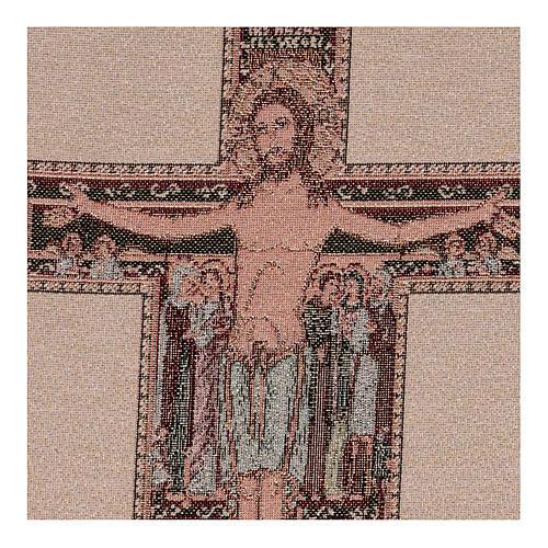 Arazzo Crocefisso di San Damiano 40x30 cm 2