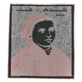 Arazzo Bernadette di Soubirous 35x30 cm s3