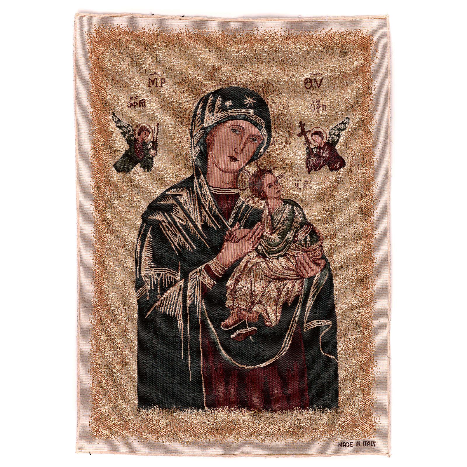 Arazzo Madonna del Perpetuo Soccorso 55x40 cm 3