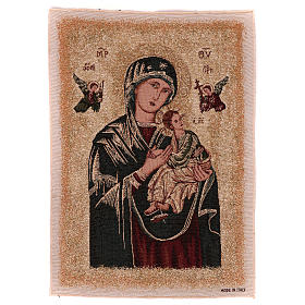 Arazzo Madonna del Perpetuo Soccorso 55x40 cm s1