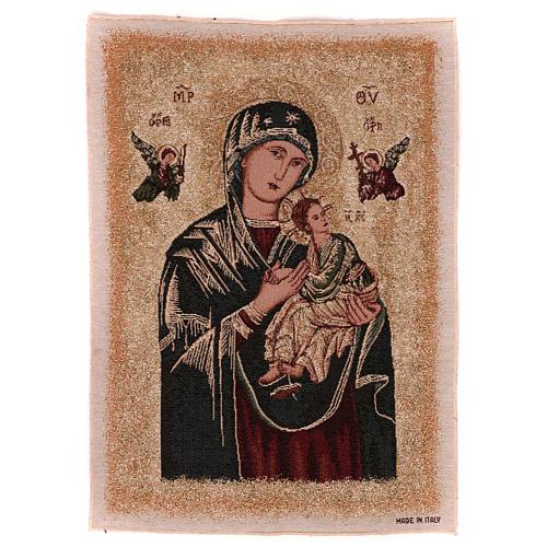 Arazzo Madonna del Perpetuo Soccorso 55x40 cm 1