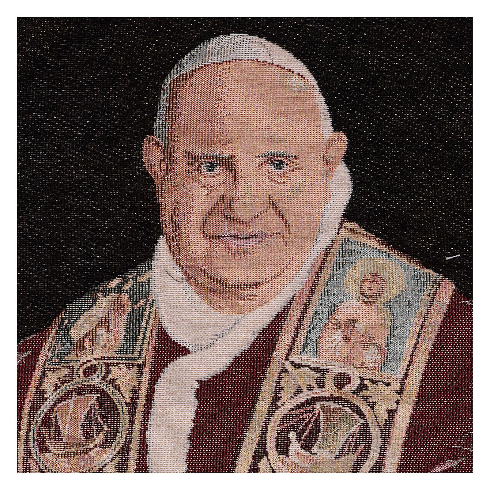 Tapiz Papa Juan XXIII 50x40 cm 3