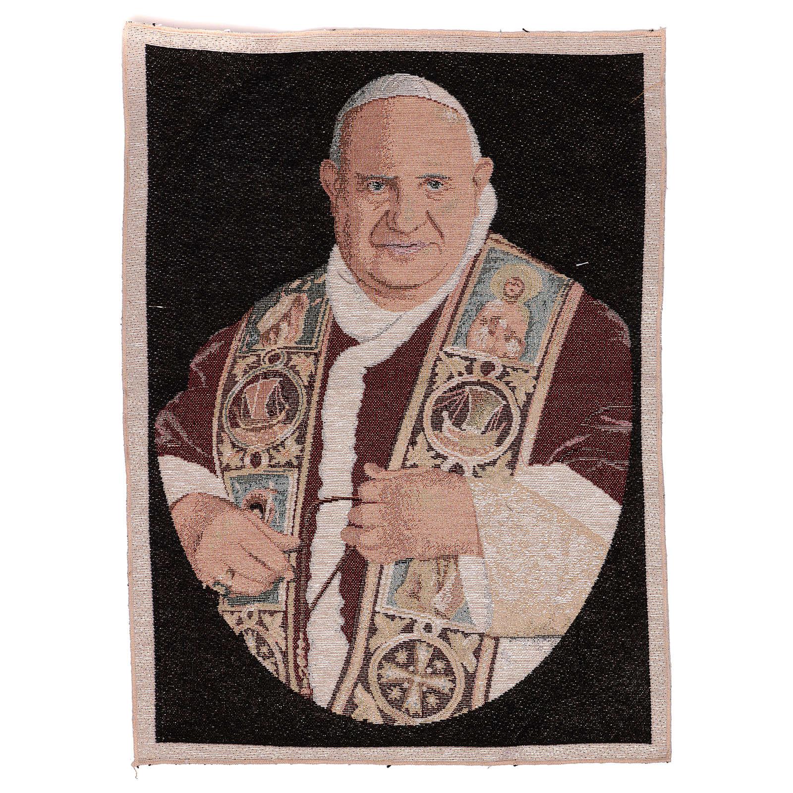 Arazzo Papa Giovanni XXIII 50x40 cm 3
