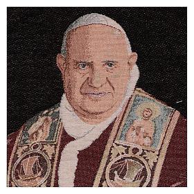 Arazzo Papa Giovanni XXIII 50x40 cm s2