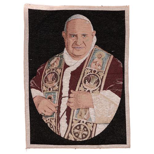 Arazzo Papa Giovanni XXIII 50x40 cm 1