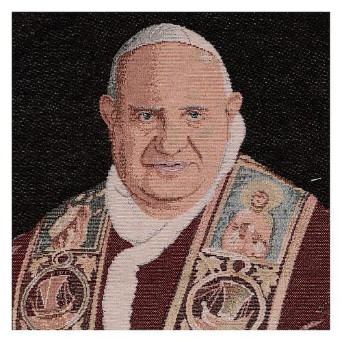 Pope John XXIII tapestry 13x24