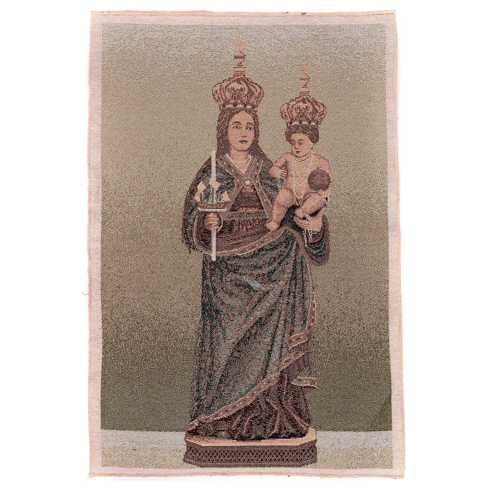 Arazzo Madonna di Bonaria 55x40 cm 3