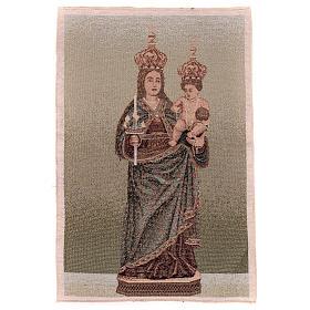 Arazzo Madonna di Bonaria 55x40 cm s1