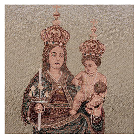 Arazzo Madonna di Bonaria 55x40 cm s2