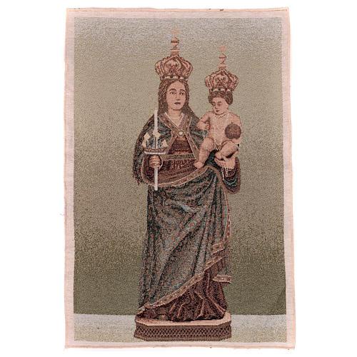 Arazzo Madonna di Bonaria 55x40 cm 1