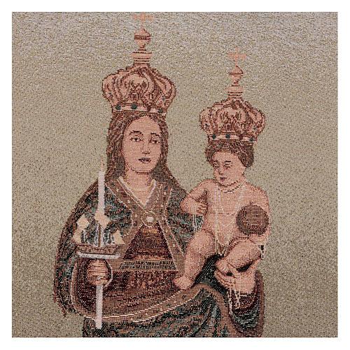 Arazzo Madonna di Bonaria 55x40 cm 2