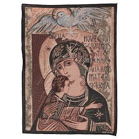 Arazzo Madonna del terzo millennio 55x40 cm s1