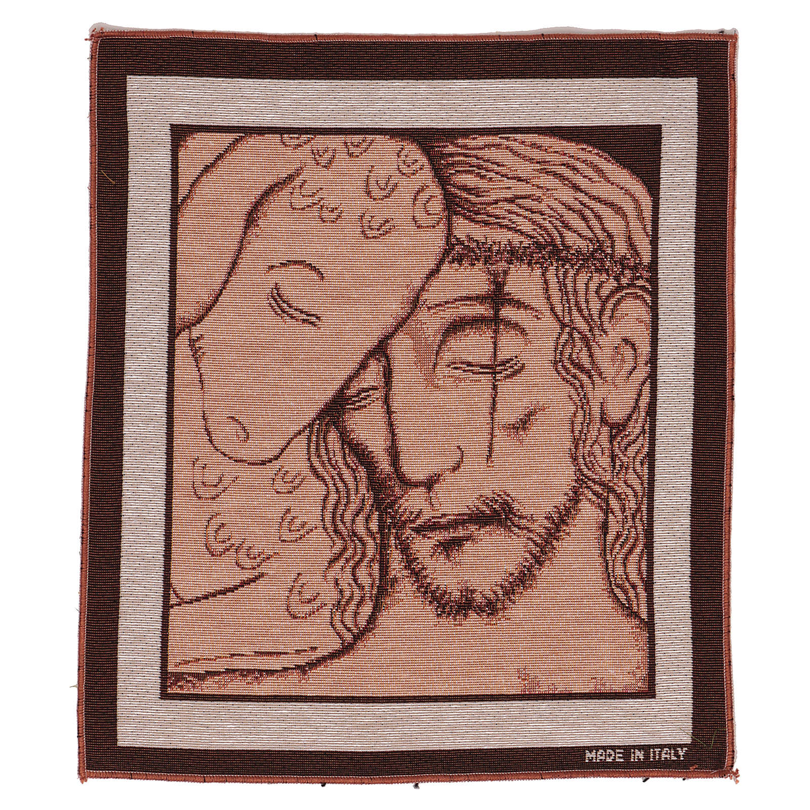 Tapiz Buen Pastor de Kiko 40x30 cm 3