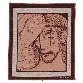 Arazzo Buon Pastore di Kiko 35x30 cm s1