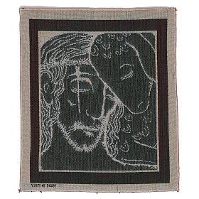 Arazzo Buon Pastore di Kiko 35x30 cm s3