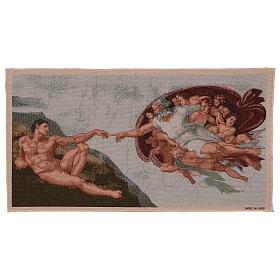 Arazzo Creazione di Adamo 35x60 cm s1